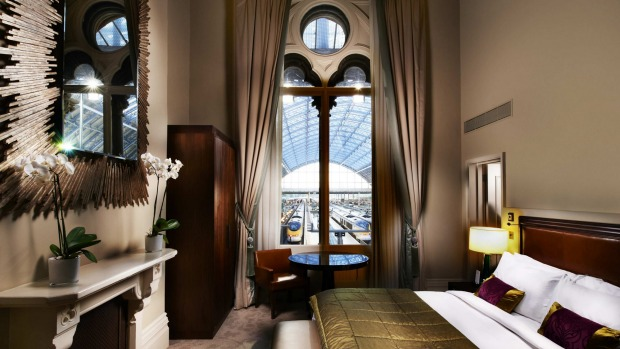 ST PANCRAS RENAISSANCE HOTEL LONDON, ENGLAND: The quintessential grand luxury railway hotel, the St Pancras Renaissance ...