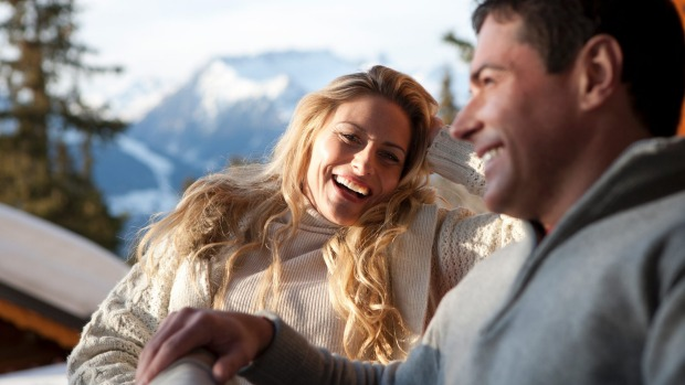Finding a date at the snow has gotten a whole lot faster with dating apps such as Tinder.