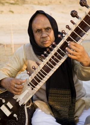 Learn the sitar in India.