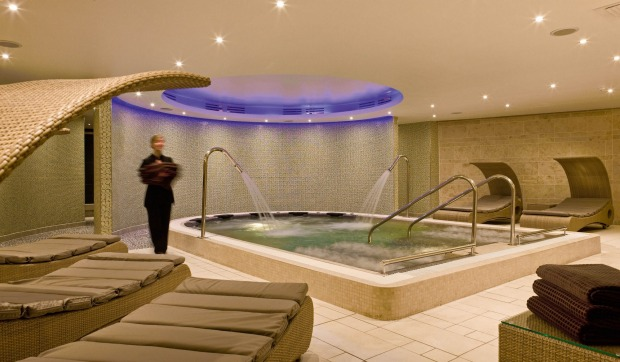 Inside the spa at Sofitel London Heathrow. Layovers have long been a painful experience, thanks to barebones airport ...