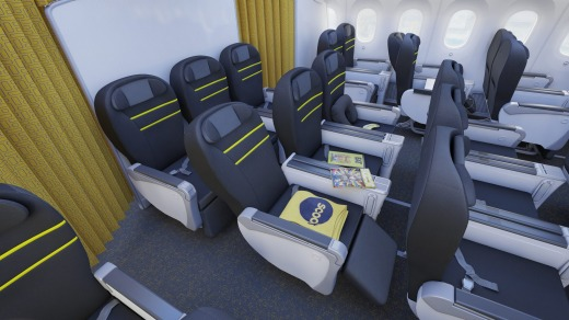 Fly business class to Singapore with Scoot.