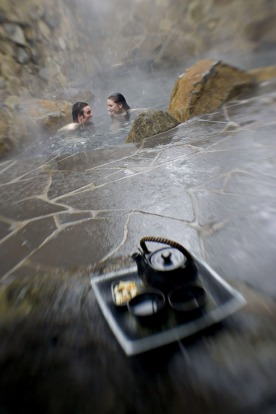 Onsen Retreat and Spa, Dinner Plain: If you're really lucky, snow will fall on you while you're indulging in the ...