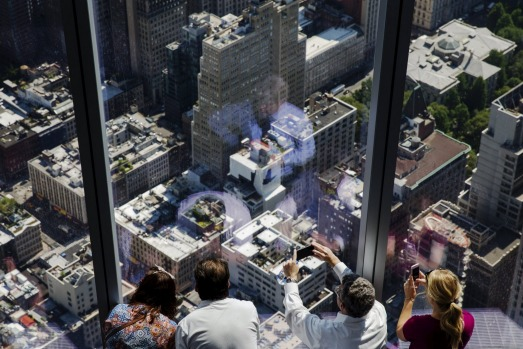 World trade centre new york freedom tower observation for 102nd floor