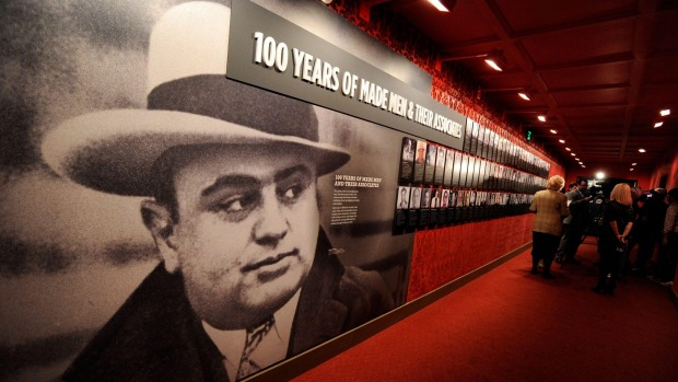 Rogues gallery: The Mob Museum in Las Vegas chronicles the history of organised crime in the United States.
