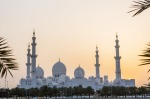 Sheikh Zayed mosque is the largest in the United Arab Emirates.