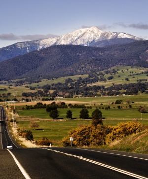 It's only a three-hour trip from Melbourne to  Mount Buller.