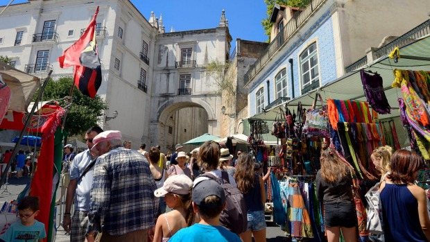 FEIRA DA LADRA, LISBON: In Lisbon's Old World quarter, this market supposedly had its origins when female thieves ...