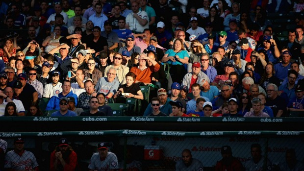 Wrigley Field, USA: The home of the Chicago Cubs baseball team can sometimes feel every one of its 100 years - the seats ...