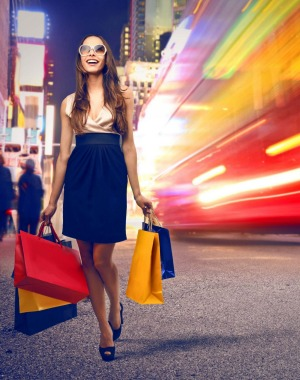 Real shopping should be done outside the mega-malls.
