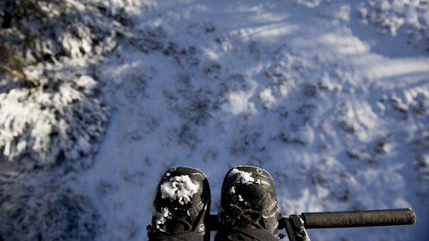 View from a chairlift at Thredbo.