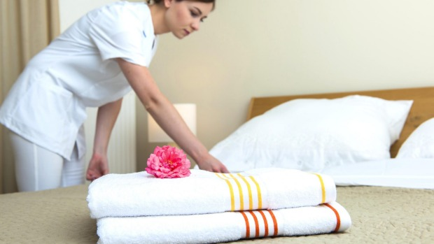 The majority of hotels expect guests to remove all the toiletries, but linens are a different matter.