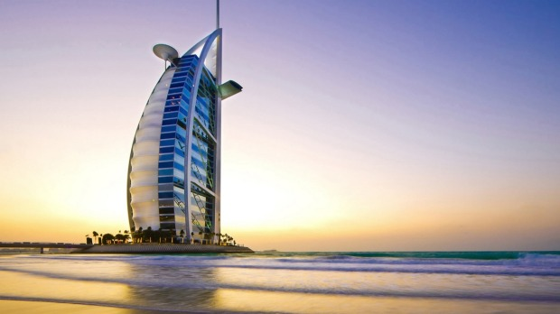 At 321m tall, the Burj Al Arab is not even the tallest hotel in Dubai. It's eclipsed by the Rose Tower and JW Marriott ...