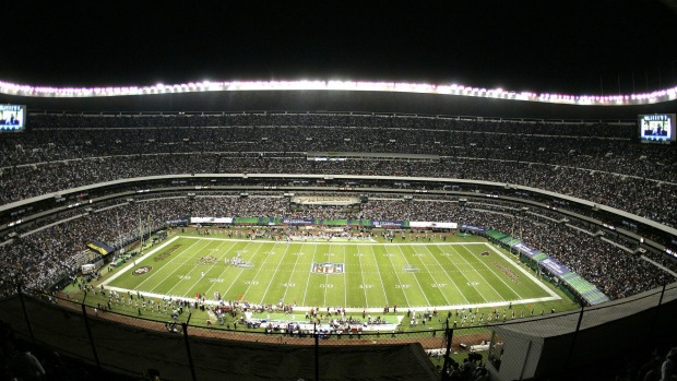 Azteca Stadium, Mexico. What's so great about the Estadio Azteca? How about the capacity: 105,000 people. This is one ...