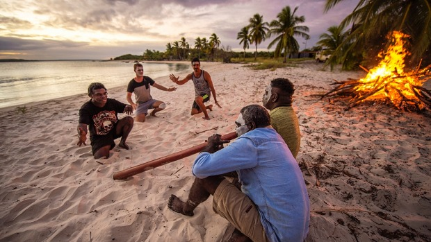 All of them include a stay on the lovely beach at Bawaka, hosted by Djawa 'Timmy' Burarrwanga and his family.