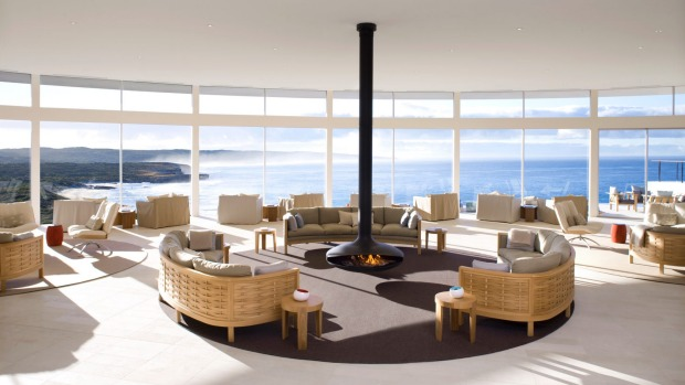 For stormwatching to work, you need somewhere warm and cosy to watch it from, which makes Southern Ocean Lodge, with its ...