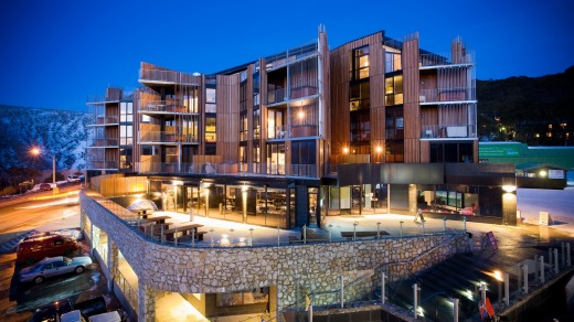 QT Falls Creek offers opulent accommodation.