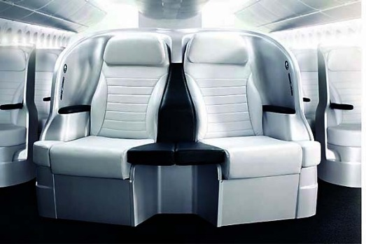Air New Zealand's premium economy seat. Increasingly, premium economy feels like the business class of old, but without ...
