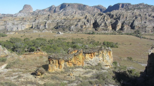Hiking In Madagascar S Isalo National Park An Island Of