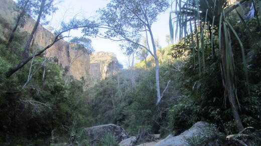 Namaza canyon is a journey through contrasts.