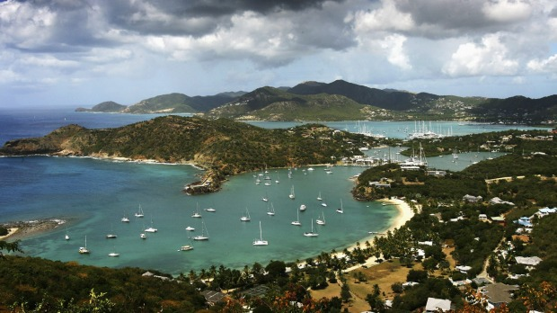The picturesque English Harbour in Antigua is home to Nelson's Dockyard heritage site.
