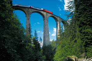 Engineering feat: The Glacier Express is one of the great Swiss rail journeys.