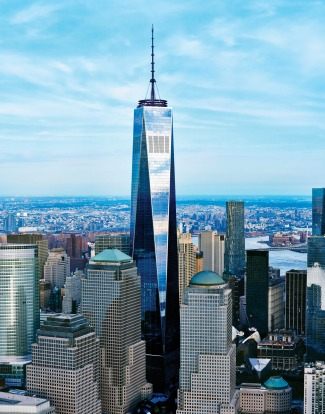 ONE WORLD TRADE CENTRE, NEW YORK: This skyscraper on the site of the Twin Towers destroyed during the 9/11 attacks is a ...