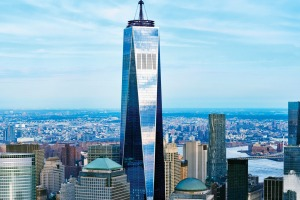 The One World Trade Centre rivals the Empire State Building and Rockefeller Centre when it comes to views over the city.