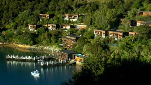 The Bay of Many Coves Resort is one of the Marlborough Sound's finest small luxury hotels.