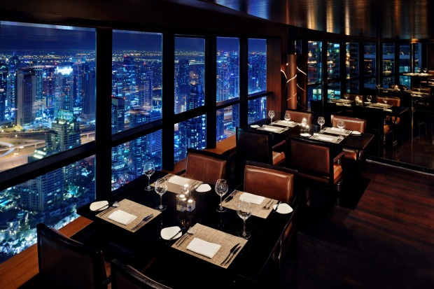 The Observatory at The Marriott Hotel: AED25 a beer is a price almost unheard of in Dubai, where alcohol is heavily ...
