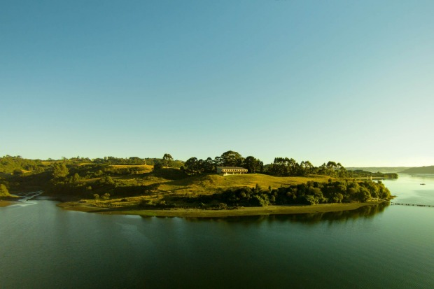 Tierra Chiloe is in a stunning setting.