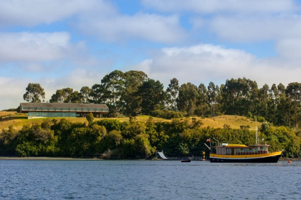 Tierra Chiloe has its own boat offering guests excursions in the region.