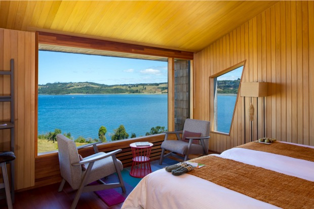 Tierra Chiloe. Every room has a great view.
