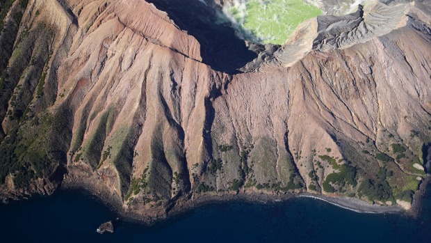 White Island, New Zealand: Some 50 kilometres off North Island's east coast, this live volcano comes straight from the ...