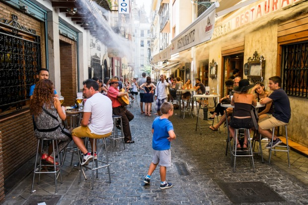 Granada, Spain: Southern Spain is not only ridiculously affordable – one-euro beers, three-euro meals – but it's also ...