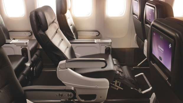 Air New Zealand's premium economy class for trans-Tasman flights.