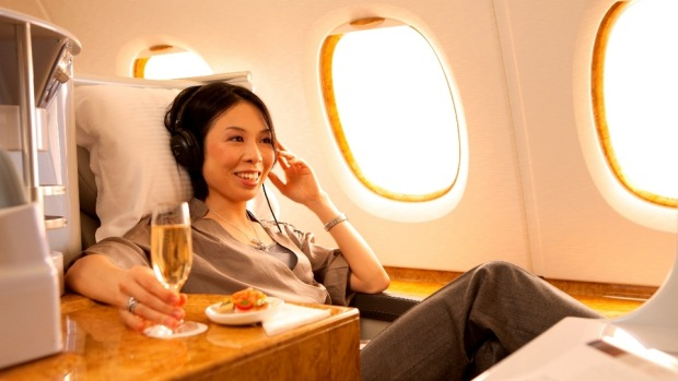 Upgrades from economy to business class are an attractive proposition.