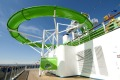 The popular Green Thunder attraction on Carnival Spirit and Carnival Legend.  Photo: Carnival