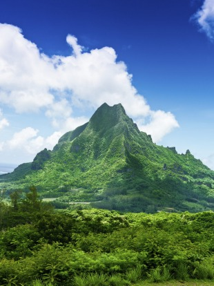 Bora Bora has the knockout lagoon, but Moorea has mountains to take your breath away, with climbers rating them as some ...
