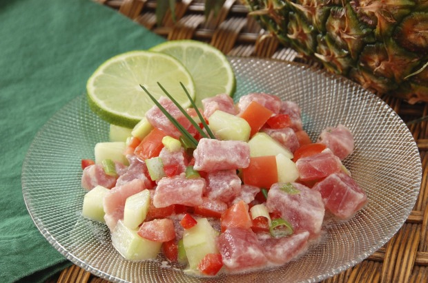 Poisson cru: Dining is notoriously expensive in French Polynesia, but not at the roulottes (or caravans), which serve ...
