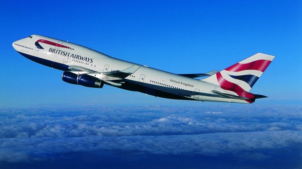 High winds have helped a British Airways 747 set a new record, flying from London to New York in less than five hours.