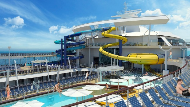 Once built, Harmony of the Seas will weigh 227,000 tonnes and measure 362 metres in length, 50 metres longer than the ...
