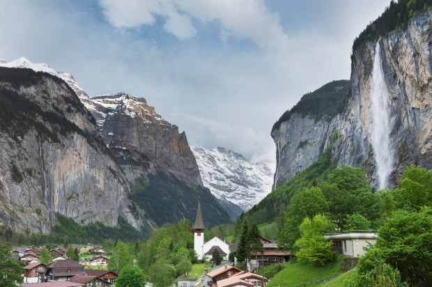 Lauterbrunnen Valley.