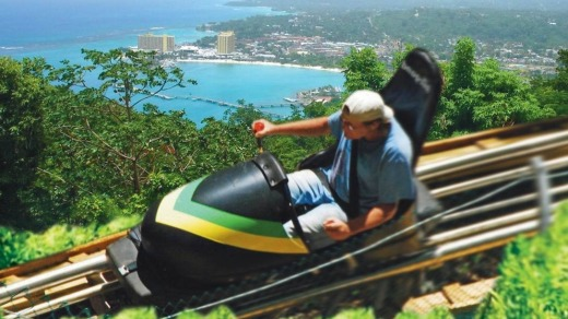 As in the 'Cool Runnings' movie, visitors can try a bobsled at Mystic Mountain, in Jamaica.
