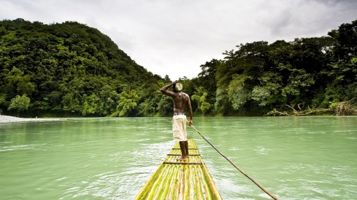 Rafting is a traditional part of Jamaican life and you can travel by raft on the Rio Grande, Jamaica.