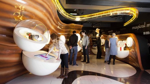 The Factory Zone  at York's Chocolate Story covers the manufacture of chocolate.