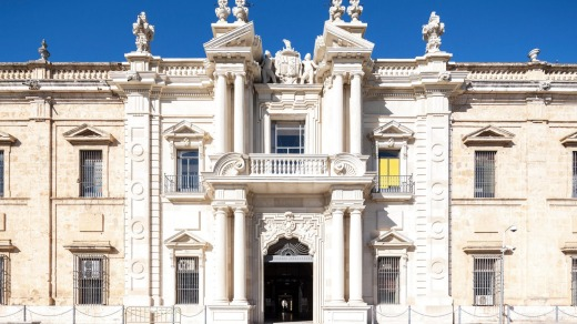 Royal Tobacco Factory, now University of Seville. Where Carmen made cigars.