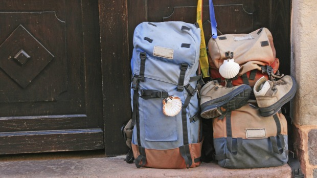 A simple backpack with some good walking shoes may be all you need to take.