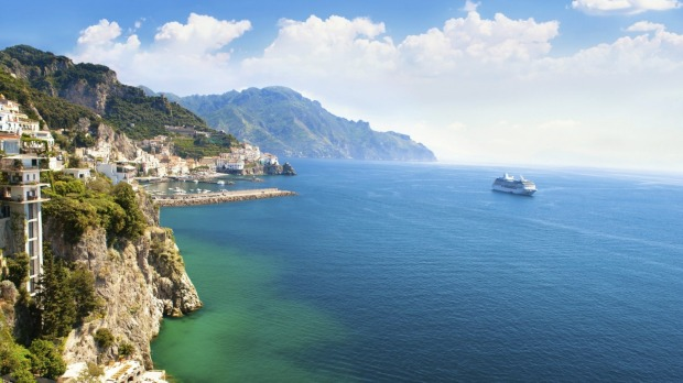 The Mediterranean coast is endlessly fascinating when viewed from the sea.