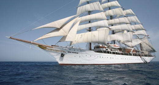 See the Aegean on Sea Cloud, one of the world's most impressive sailing yachts.