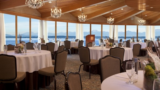 The Olympic dining room at the Edgewater.